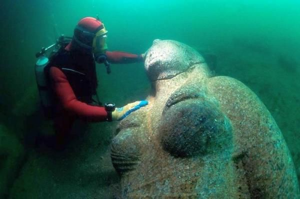 Latest discovery: December 2013... An Ancient City Is Discovered Underwater. What They Found Will Change History Forever