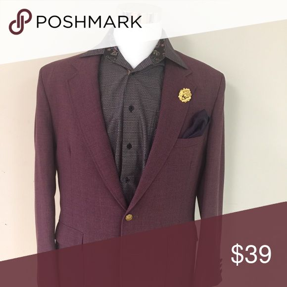 Purple Blazer Selling Purple Blazer with Visconti Shirt Jackets & Coats Blazers