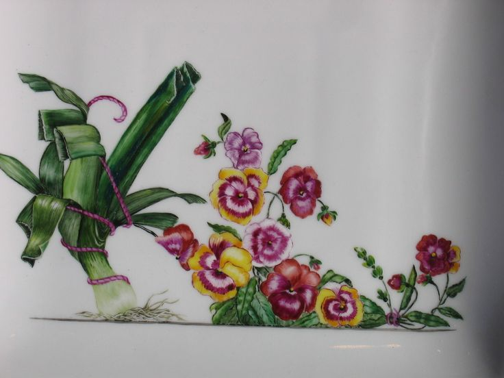 1000 images about porcelaine peinte on pinterest. Black Bedroom Furniture Sets. Home Design Ideas