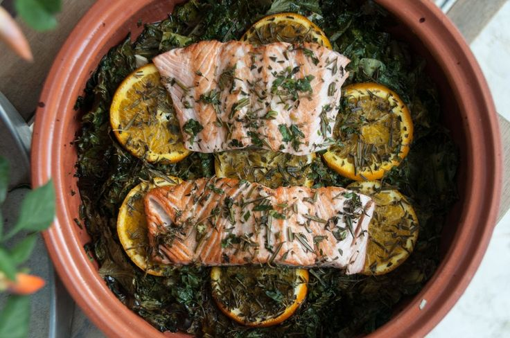 Salmon Fricassee! The perfect healthy dinner you need after a long hardworking day!