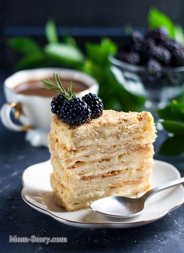 Крем для торта наполеон фото