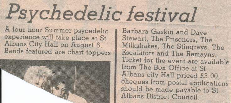 The Prisoners - 1983.08.06 St. Albans City Hall (News 1)