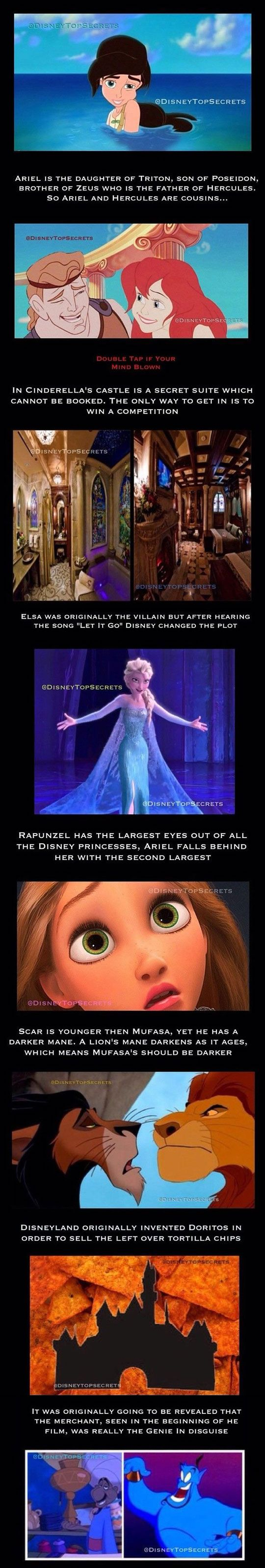 Amazing Disney Secrets