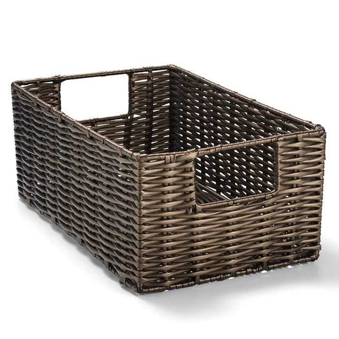 avon living woven bin perfect pieces pull it all togethera woven bin for any necessities in any room