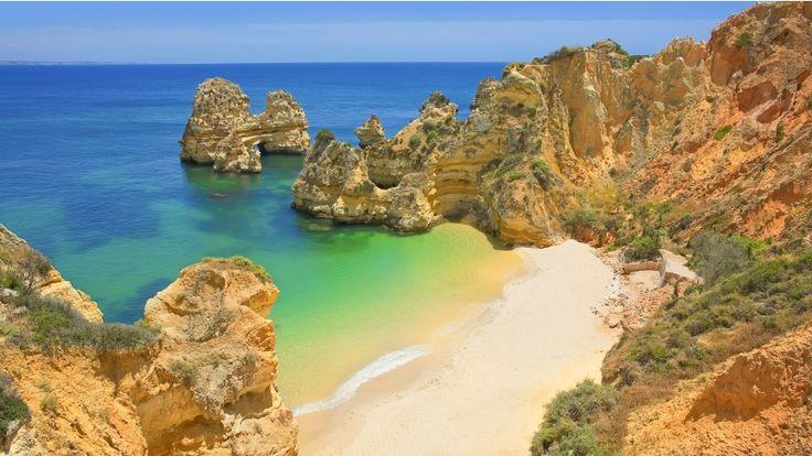 Praia do Algarve.