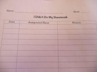 Teach Bake Love: No Homework Binder