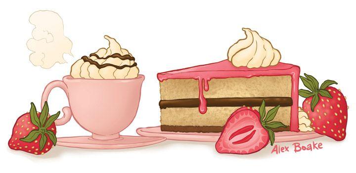 Coffee Break, Alex Boake Illustration, Kiku Corner