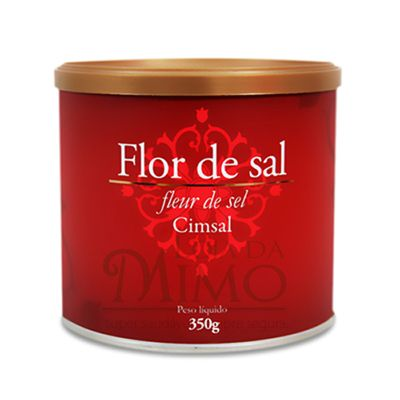 Flor de Sal Cimsal (Sal Marinho Integral)