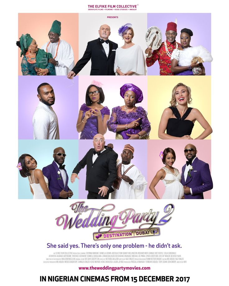 Watch Teaser of The Wedding Party 2: Destination Dubai Nollywood Movie Featuring Banky W Adesua Etomi and others