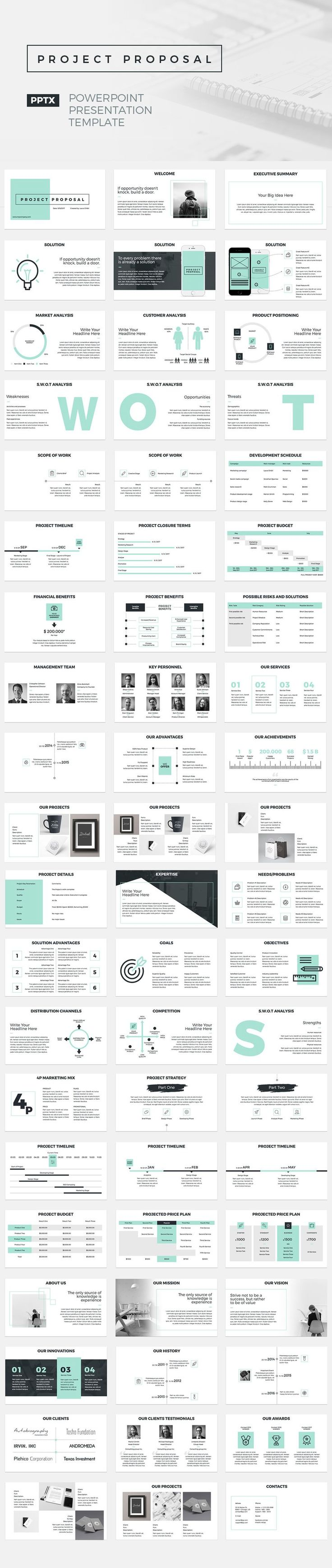Best Powerpoint Resume Template Images On   Business