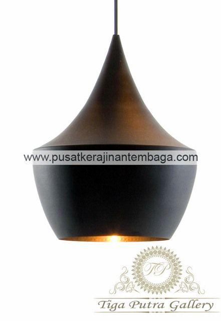 lampu gantung tembaga untuk cafe