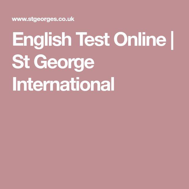 English Test Online | St George International
