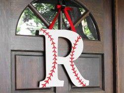 Baseball Monogram
