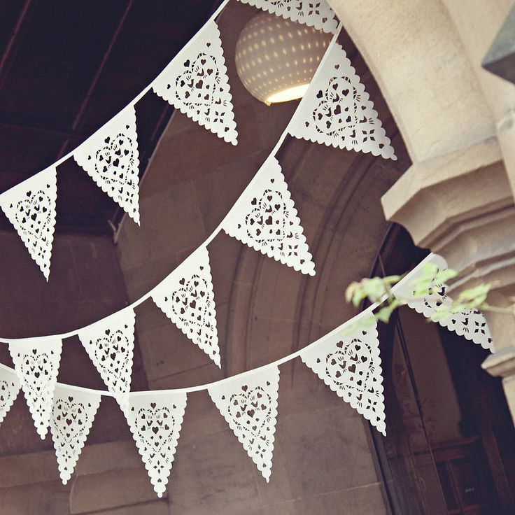 Love Bird Wedding Bunting from BaloolahBunting on Etsy or Notonthehighstreet.com #wedding #lovebirds #bunting