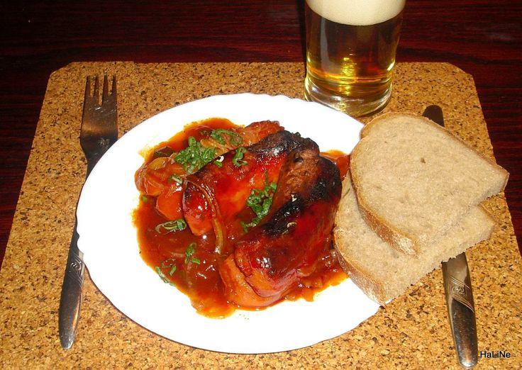 Nejedlé recepty: Cikánské špekáčky