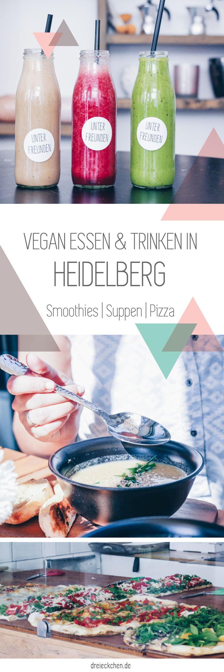 Hipster Food Tipps Heidelberg: grüne Smoothies, hausgemachte Pizza, vegane Suppen, Interior und Geschenke Shopping und die schönsten Cafés