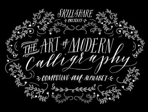 A Collection of Lettering Tutorials online....art of modern calligraphy class