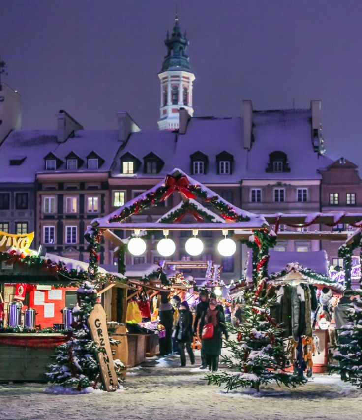 Warsaw Christmas Markets 2014, Poland