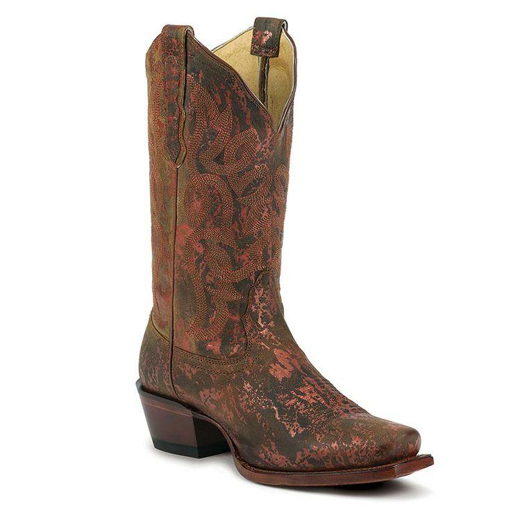 Nocona Women's Oxido Square Toe Western Boots $179