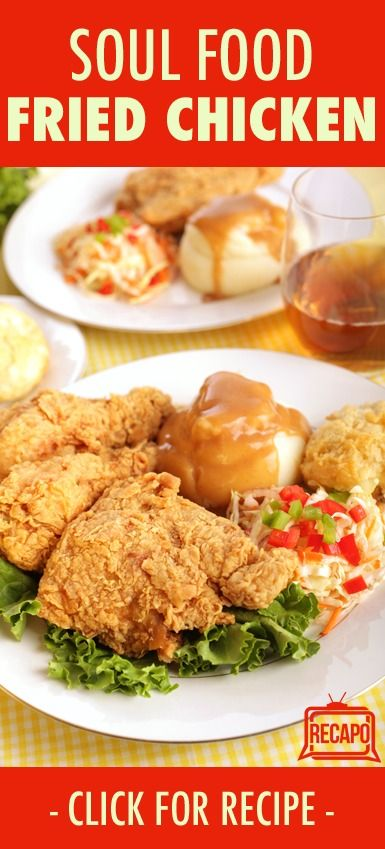 Are you a fan of soul food? Check out this recipe for amazing fried chicken, and use the same batter to try out on fried catfish too!