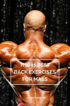 A look at some of the best mass-building back exercises | Repinned https://de.pinterest.com/muskelfarm/