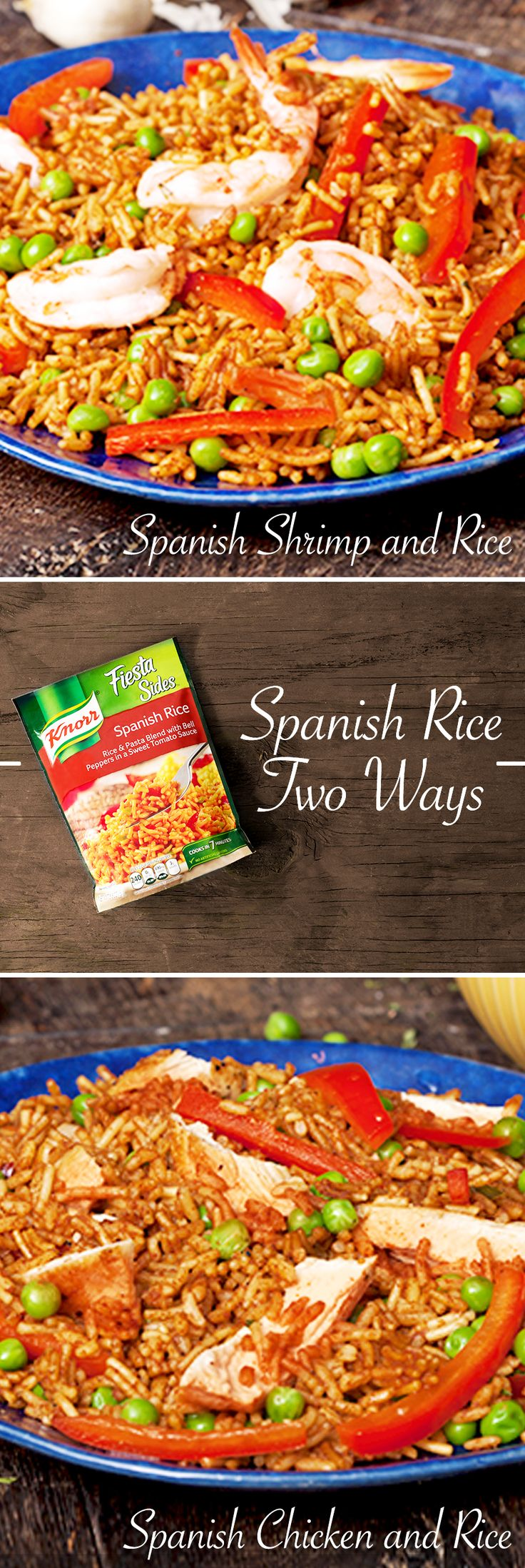 Whatever your style, it's easy to make a delicious Spanish Rice meal right on the stovetop. Just pick your protein, and delicious flavors will follow!