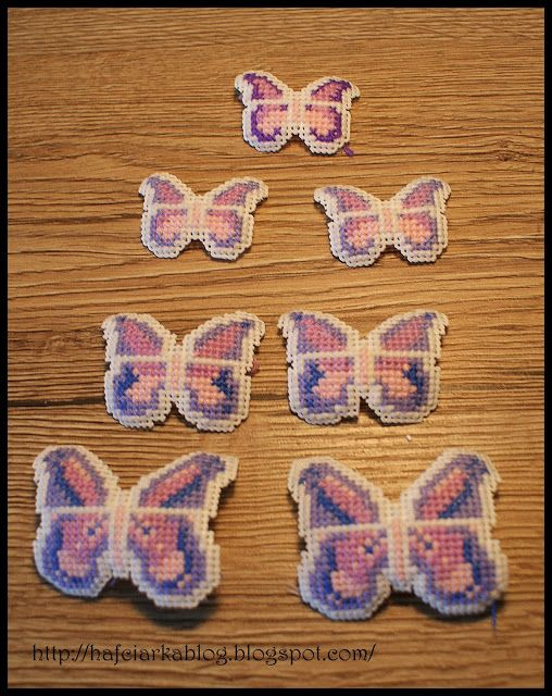 Hafciarka: Motyle