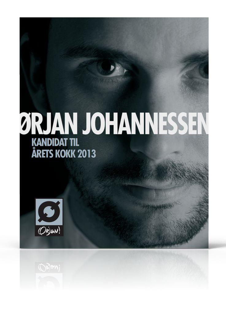 Plakat Årets kokk Ørjan
