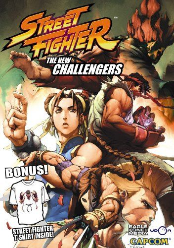 Street Fighter: The New Challengers  RYU Street Fighter T-Shirt Bundle @ niftywarehouse.com #NiftyWarehouse #Geek #Gifts #Collectibles #Entertainment #Merch