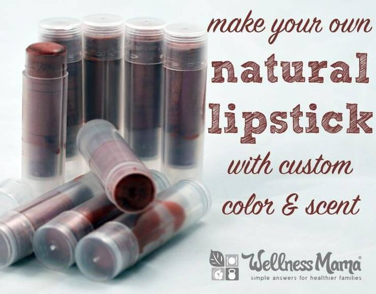 DIY Natural Shimmer Lipstick Recipe - This homemade natural shimmer lipstick recipe combines beeswax, essential oils, coconut oil, and shea butter or cocoa butter, and mica. Amazing!