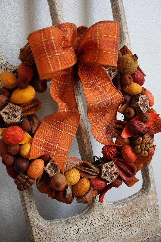Sweet Something Designs: Potpourri Wreath