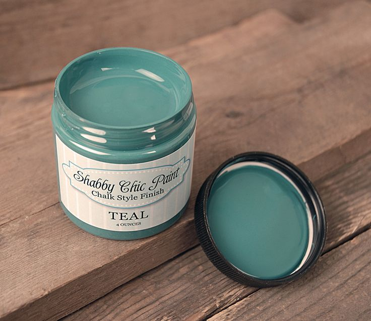 Shabby Chic Paint Chalk Style Finish - Teal 4 oz  To paint signs.. and stuff #saveoncrafts #dream wedding