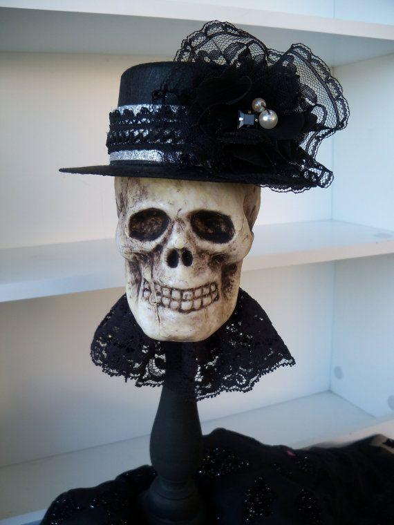 Elegant Skeleton    {Halloween Decoration by JeanKnee on Etsy}