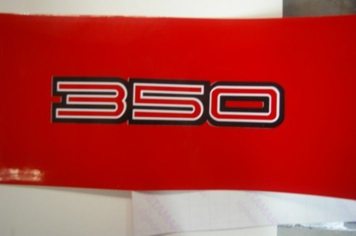 350   GTS Monaro Style Laminated Stickers Holden Hk Ht Hg Hq  #UnbrandedGeneric