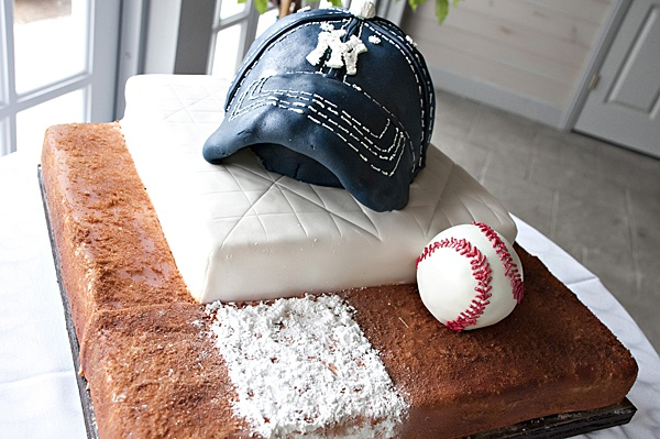 Baseball Grooms Cake, Travis J Photography, Colorado