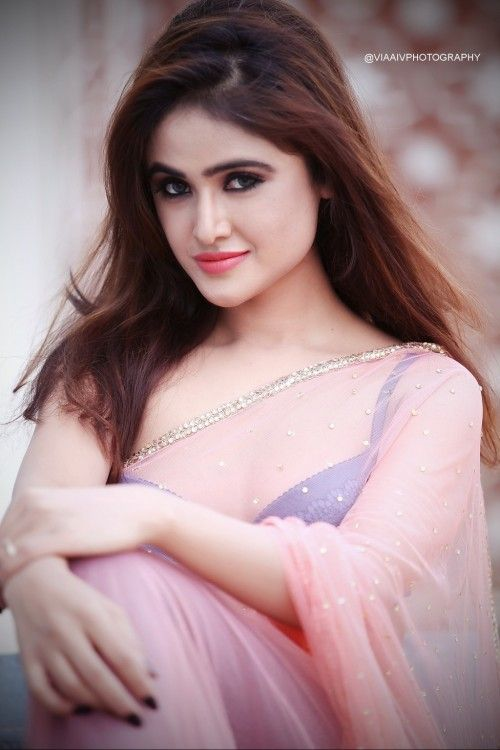 Actress Sony Charista Latest Photoshoot Gallery in Saree CelebsNext 0003