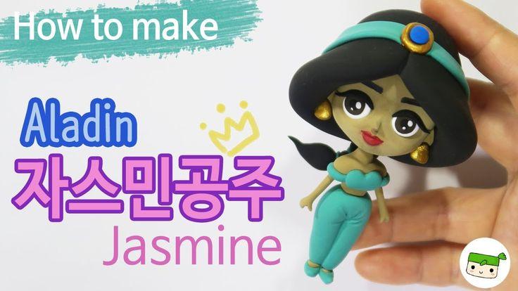 알라딘~자스민공주만들기/ 디즈니 공주/ how to make Princess Jasmine/ Aladin