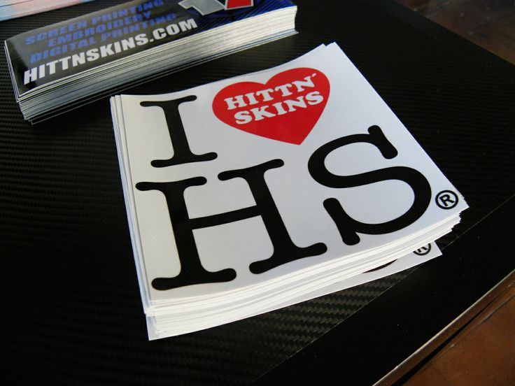 Boost morale generate interest promote in style with savvy custom stickers by hittn