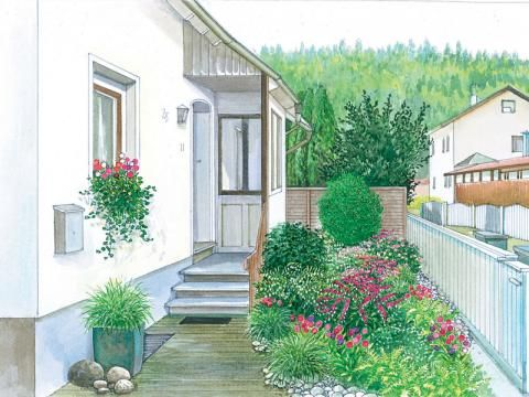 341 besten Garten Bilder auf Pinterest Gardening, Gärten und - garten gestalten vorher nachher