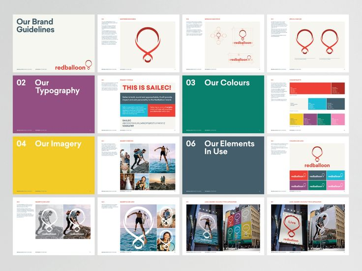 Red Balloon guidelines by Christopher Doyle & Co
