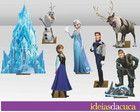Mini Totens 30cm em MDF Frozen