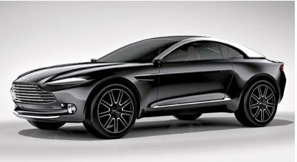 """Concept-car Aston Martin DBX. """"Ruée sur les SUV"""" Il y a quatre ans, les 4 x 4 représentaient moins de 10 % du marché. Ils dépasseront les 30 % en 2015, soit une voiture sur trois. Chronique d'un succès qui ne fait que commencer."""