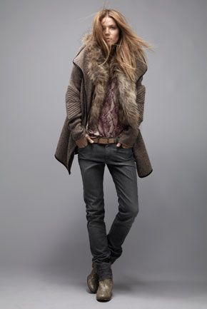 relaxed winter style