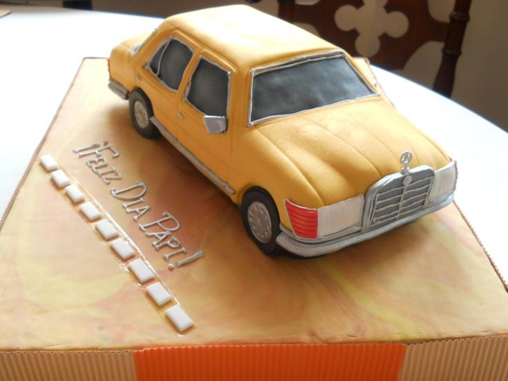 Cake Decorating Classes El Paso Tx : Torta para celebrar el dia del padre. El carro de mi papi ...