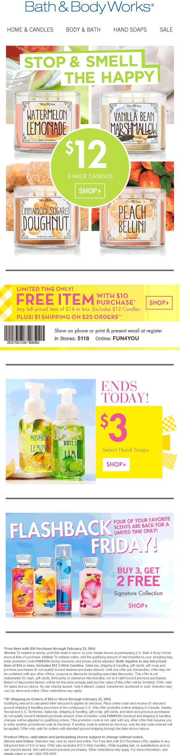 How can you save money with printable hibbett sports coupons 10 - Pinned February 20th Any 14 Item Free With 10 Spent At Bath Bodyworks Or Online