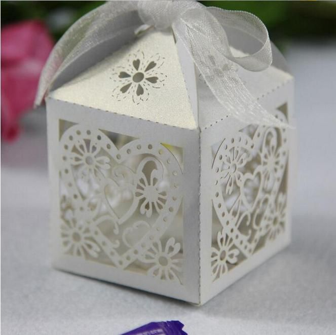 Wedding Accsspries Favor Holders 2015 Continental Hollow Pierced Heart Tray Lace Wedding Candy Box Laser Creative Favor Holders Bridalbo7078 Boxes For Wedding Boxes For Wedding Gifts From Promotionspace, $18.42| Dhgate.Com