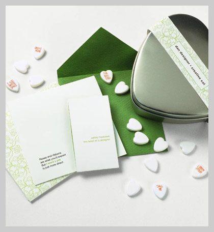 Conversation Heart valentine by ashley hostasek
