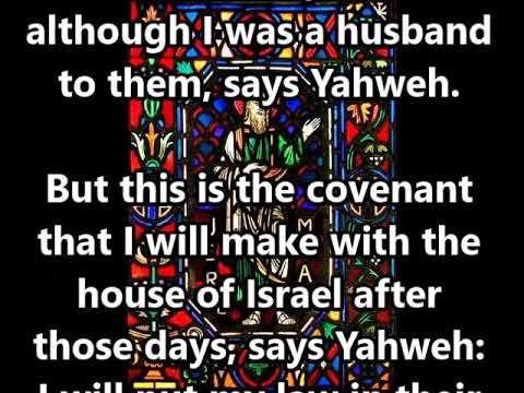 Covenant Sunday Scripture 4: Jeremiah 31:31-34