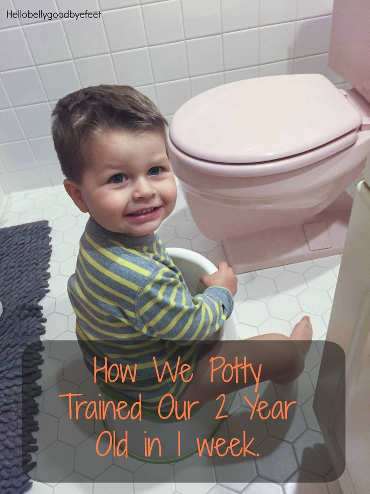 Detailed journey of how we potty trained our 2 year old.  What worked and what we used to make it a success.