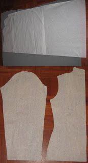 Como hacer el saco origami o cozy de DKNY (molde y como usarlo) : VCTRY's BLOG